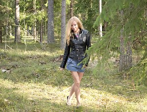 XXX Teen Leather Porn Pictures