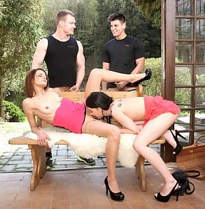 XXX Bisexual Porn Pictures